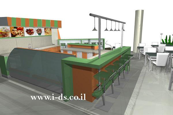 עיצוב בית קפה, עיצוב בית קפה בפתח תקווה, עיצוב מקום ציבורי, עיצוב מסעדה, עיצוב ברים