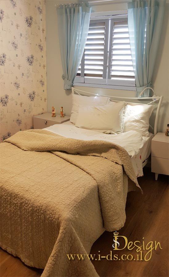 עיצוב חדרי שינה. מעצבת פנים אירנה פטרושקו