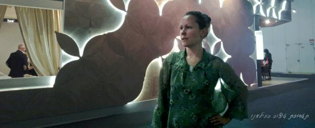 ביקור בתערוכת עיצוב וריהוט במילנו , מעצבת ישראלית אירנה פטרושקו