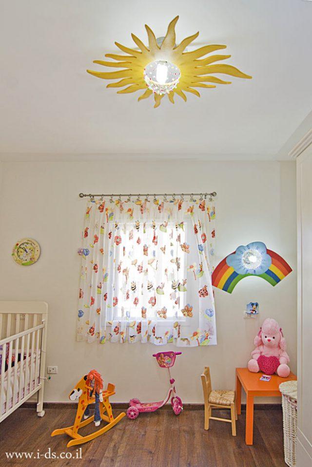 עיצוב חדר ילדים.אירנה פטרושקו אדריכלית פנים. עיצוב ותכנון דירות ובתים פרטיים