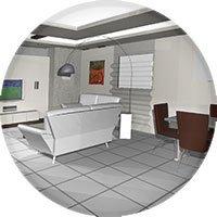 עיצוב סלון, תמונה תלת מימד 3D