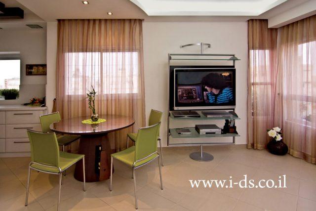 עיצוב פינת אוכל, תכנון נכון לדירה. אירנה פטרושקו אדריכלית פנים. עיצוב ותכנון דירות ובתים פרטיים