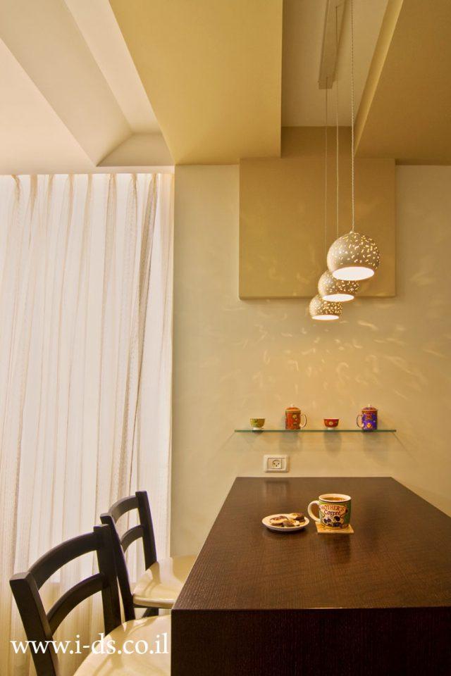 עיצוב דלפק מטבח.אירנה פטרושקו אדריכלית פנים. עיצוב ותכנון דירות ובתים פרטיים