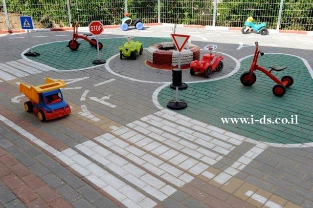 תכנון מסלול בימבות לקטנטנים.אירנה פטרושקו אדריכלית פנים. עיצוב ותכנון מקומות ציבוריים