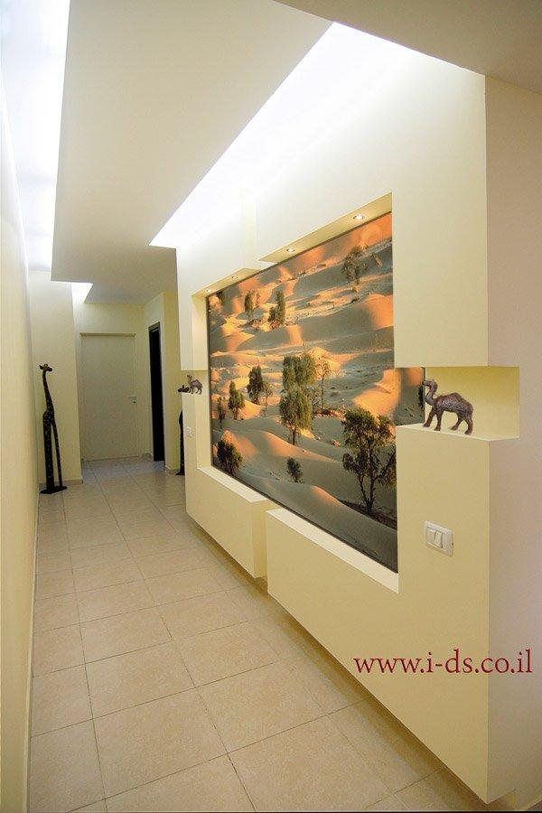עיצוב פרוזדור בדירה. כניסה לבית מרשימה..אירנה פטרושקו אדריכלית פנים. עיצוב ותכנון דירות ובתים פרטיים