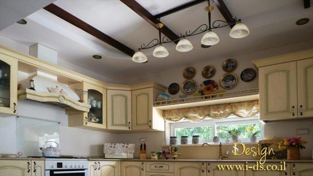 עיצוב ותכנון מטבח בסגנון פרובנס. אירנה פטרושקו אדריכלית פנים. עיצוב ותכנון דירות ובתים פרטיים