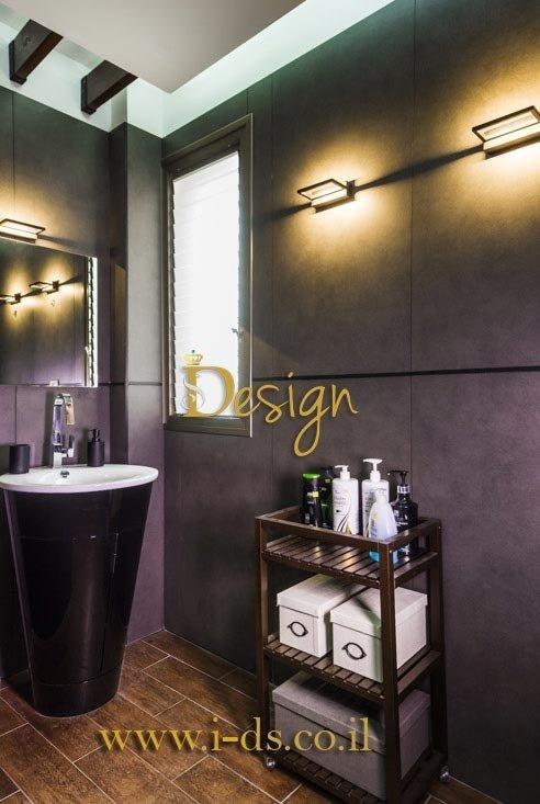 עיצוב חדר אמבטיה. אירנה פטרושקו אדריכלית פנים. עיצוב ותכנון דירות ובתים פרטיים