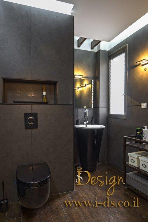 עיצוב חדר אמבטיה. אירנה פטרושקו מעצבת פנים. עיצוב ותכנון דירות ובתים פרטיים