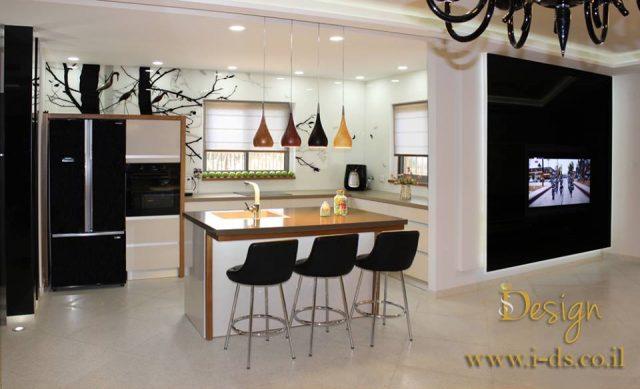 עיצוב מטבח. מעצבת אירנה פטרושקו.