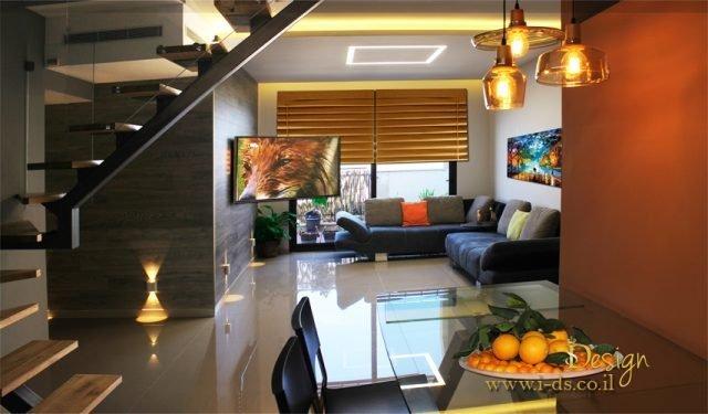 עיצוב צבעוני לבית
