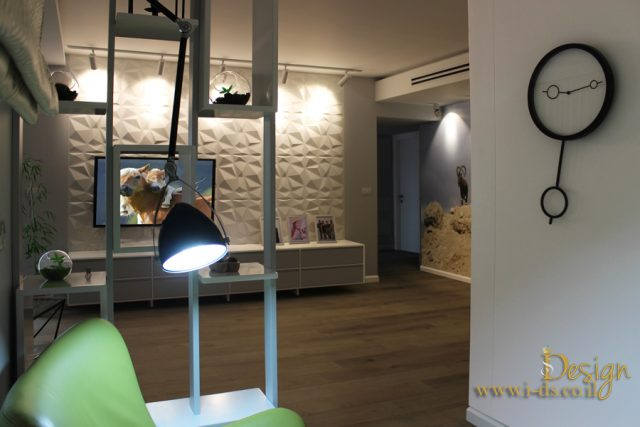 עיצוב מודרני לסלון. מעצבת אירנה פטרושקו.