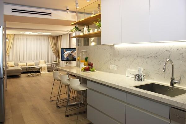 עיצוב מודרני למטבח