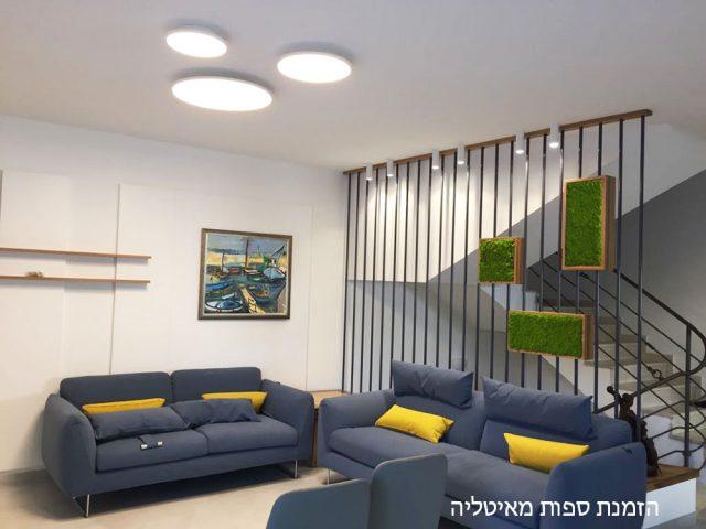 עיצוב בית פרטי. מעצבת פנים אירנה פטרושקו