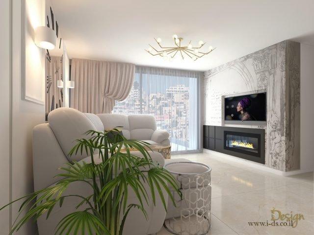 עיצוב דירה בסגנון אקלקטי
