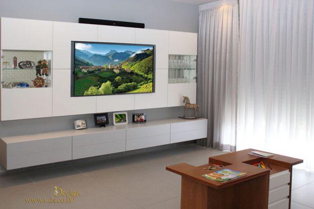 עיצוב פינת טלויזיה