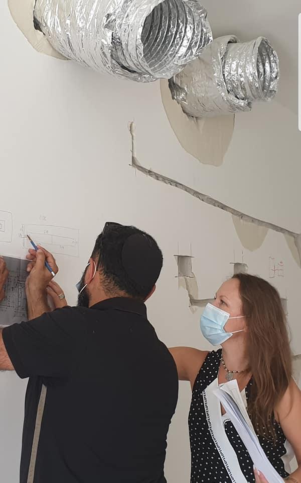 אירנה פטרושקו מעצבת פנים